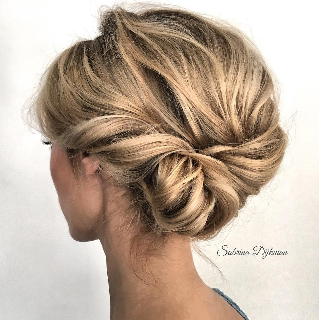 Twisted and Pinned Medium Updo