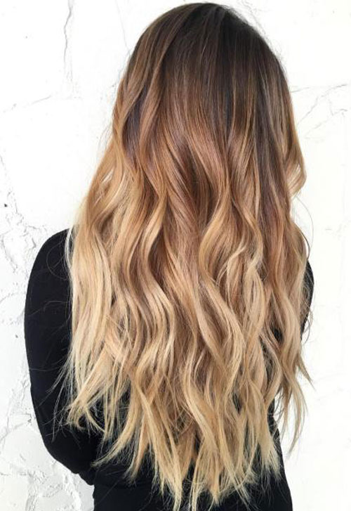 Rubia ombre